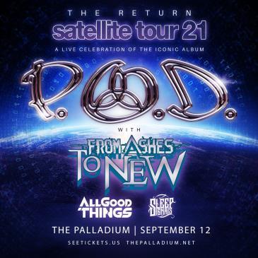 P.O.D. Satellite 20th Anniversary Tour: