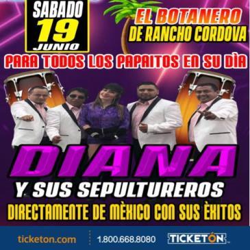 DIANA Y SUS SEPULTUREROS: Main Image