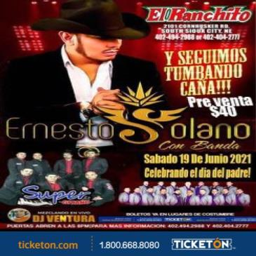 CANCELADO - ERNESTO SOLANO TOUR 2021: Main Image