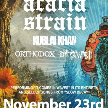 The Acacia Strain: Playing ''It Comes In Waves'' + More-img
