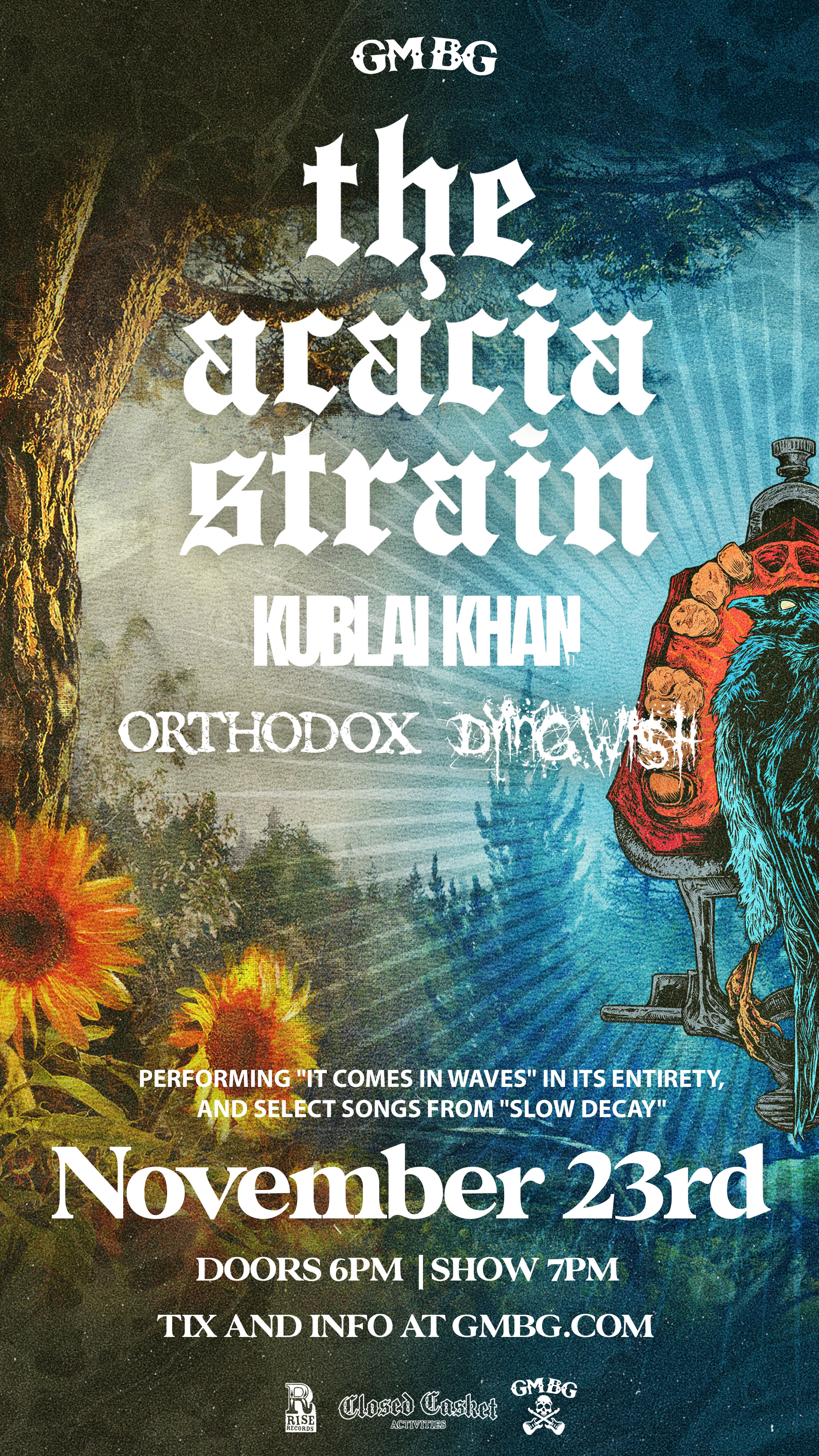 """The Acacia Strain: Playing """"It Comes In Waves"""" + More"""