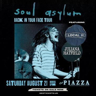 Soul Asylum - Back in Your Face Tour: Main Image