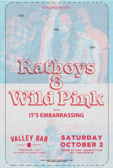 WILD PINK / RATBOYS: