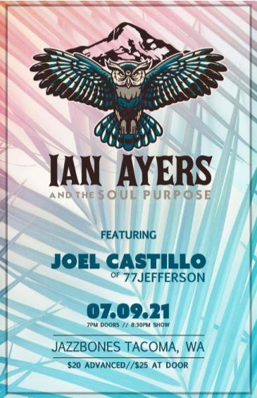 Ian Ayers and the Soul Purpose Featuring Joel Castillo: Main Image
