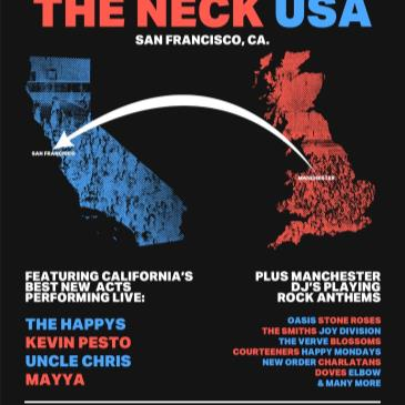 SCRUFF OF THE NECK USA SHOWCASE with THE HAPPYS and more-img