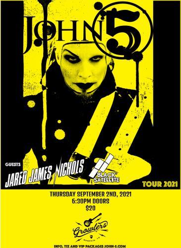 John 5 w/ Jared James Nichols & Black Satellite: Main Image
