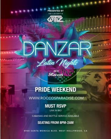 DANZAR Latin Sundays!: Main Image