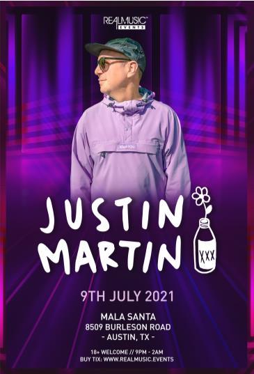 Justin Martin at Mala Santa: Main Image