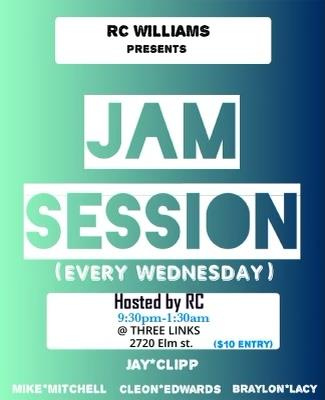 Jam Session (hosted by RC Williams): Main Image
