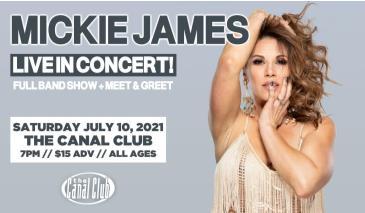 Mickie James-Full Band Show + Meet-And-Greet!: Main Image