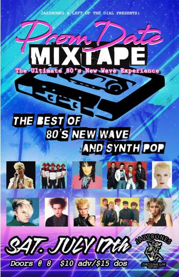 Prom Date Mix Tape (The Best 80's New Wave & Synth Pop): Main Image