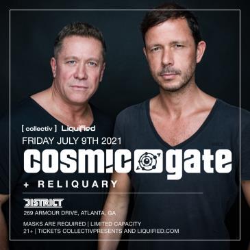 Cosmic Gate at District Atlanta: Main Image