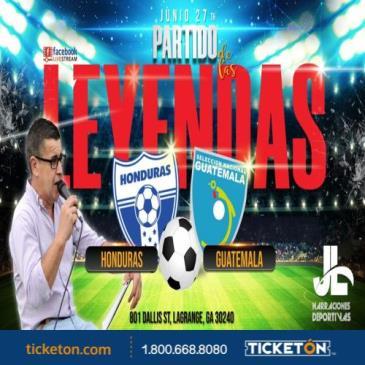 LEYENDAS HONDURAS VS GUATEMALA: Main Image