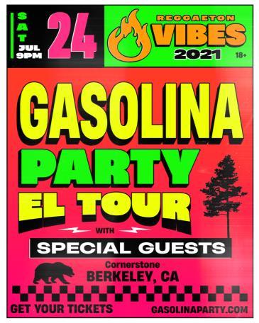 Gasolina: Reggaeton Party: Main Image