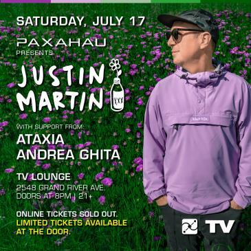 Justin Martin: Main Image