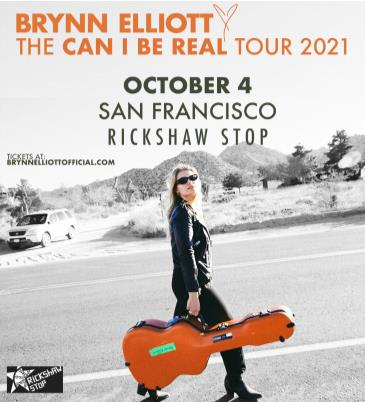 BRYNN ELLIOTT - THE CAN I BE REAL? TOUR: Main Image