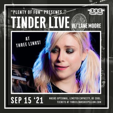 Tinder Live with Lane Moore: Main Image