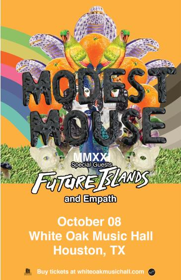 Modest Mouse with special guest Future Islands: