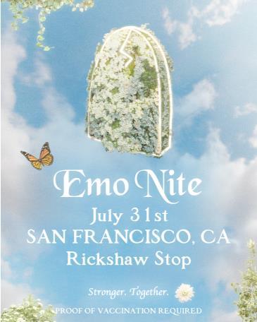 EMO NITE at Rickshaw Stop presented by Emo Nite LA: