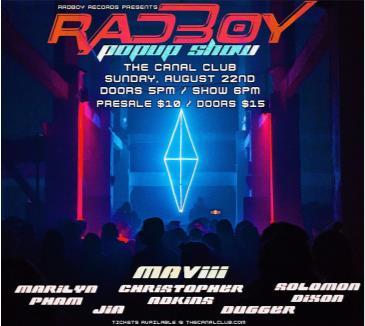 Radboy Records Pop-Up Show w/ Maviii: Main Image