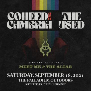 COHEED AND CAMBRIA / THE USED: