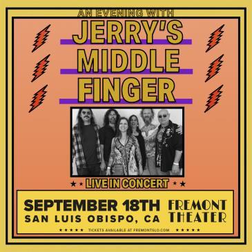 An Evening With  JERRY'S MIDDLE FINGER-img