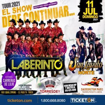 TOUR 2021 EL SHOW DEBE CONTINUAR