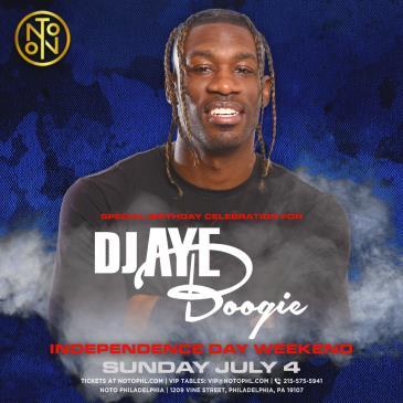 DJ Aye Boogie: Independence Day Weekend: