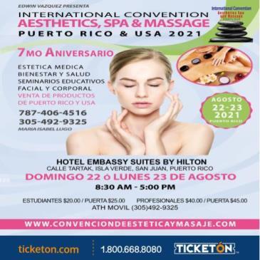 INTERNATIONAL CONVENTION AESTHETICS, SPA & MASSAGE