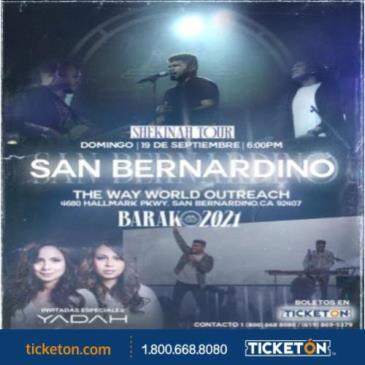 BARAK SHEKINAH LIVE TOUR  YADAH SUBLIME LIVE TOUR