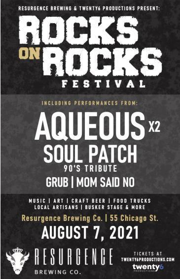 Rocks on Rocks Festival Presented by Resurgence Brewing Co: