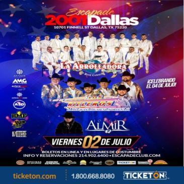 LA ARROLLADORA,DALLAS, TX