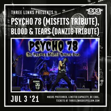 Psycho 78 (Misfits Tribute), Blood & Tears (Danzig Tribute): Main Image