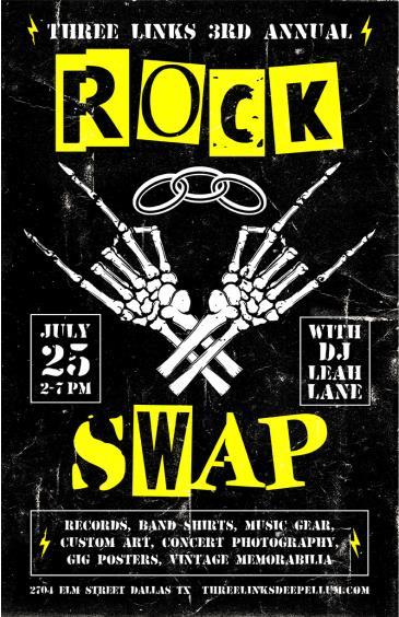 "Three Links Annual ""Rock Swap"": Main Image"