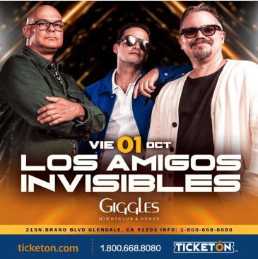 LOS AMIGOS INVISIBLES EN LOS ANGELES: Main Image