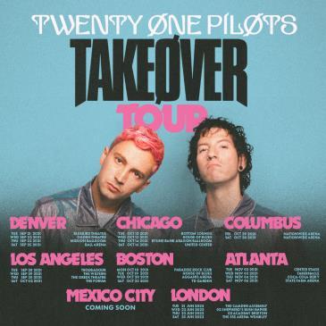 TWENTY ONE PILOTS - Takeøver Tour-img