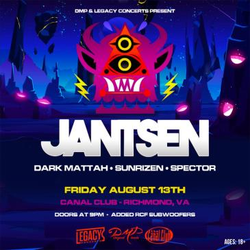 DMP & Legacy Concerts present Jantsen: Main Image