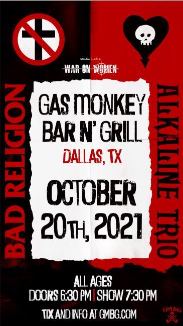 Bad Religion / Alkaline Trio: Main Image