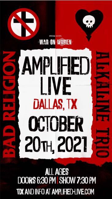 Bad Religion / Alkaline Trio: