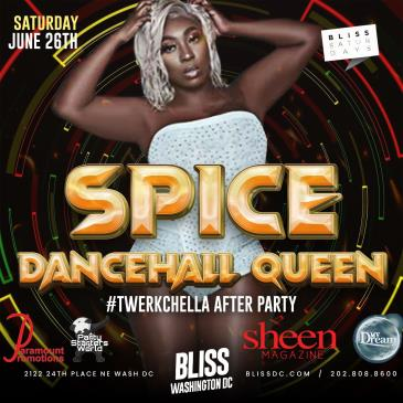 SPICE - DANCEHALL QUEEN AT BLISS: