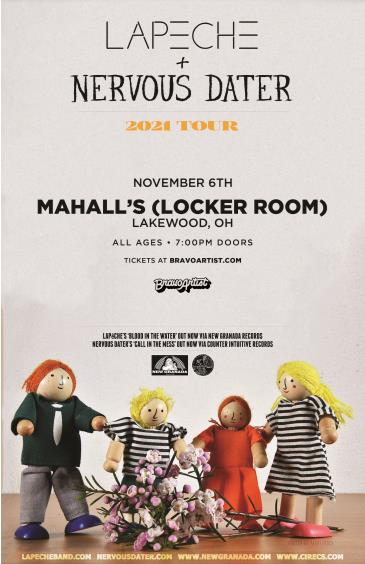 Nervous Dater & LAPECHE at Mahall's Locker Room: