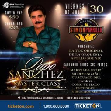 PAPO SANCHEZ - MASTER CLASS