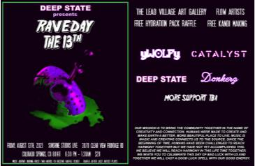 DEEP STATE: RAVEDAY THE 13TH: Main Image