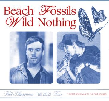 Beach Fossils, Wild Nothing, Hotel Fiction: