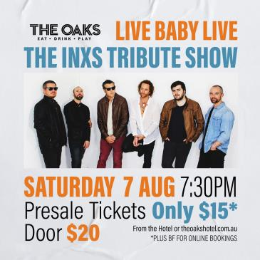 Live Baby Live - The INXS Tribute Show-img