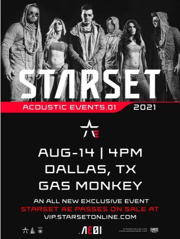 Starset Acoustic Event: Main Image