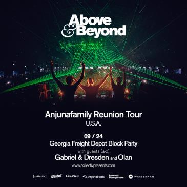 Above & Beyond: Block Party at Georgia Freight Depot: