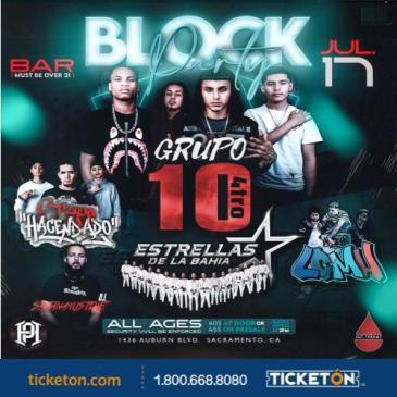 "BLOCK PARTY "" GRUPO 10 4TRO"""