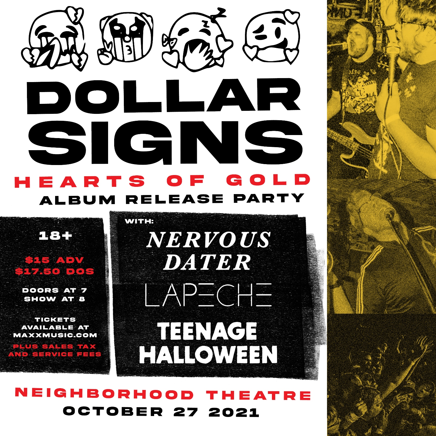DOLLAR SIGNS – Album Release Party