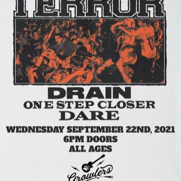Terror w/ Drain, One Step Closer and Dare-img